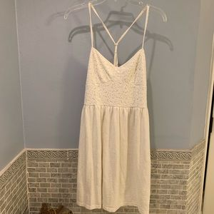 American Eagle Outfitters Lace Halter Dress, M